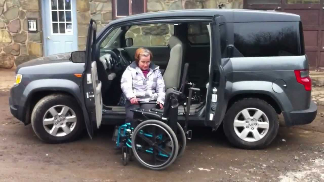 Exiting An Suv Using The Glide N Go And Easy Stow
