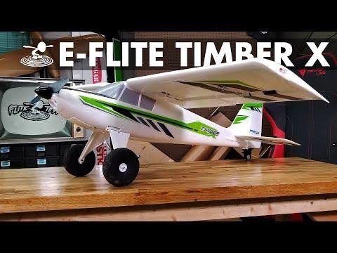 Not your Standard Bush Plane | E-flite Timber X
