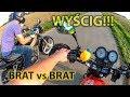 WY?CIG! - brat vs brat  | Daelim Roadwin 125 vs Benzer Yankee 140 (mrf pit bike ycf kayo stomp yx)