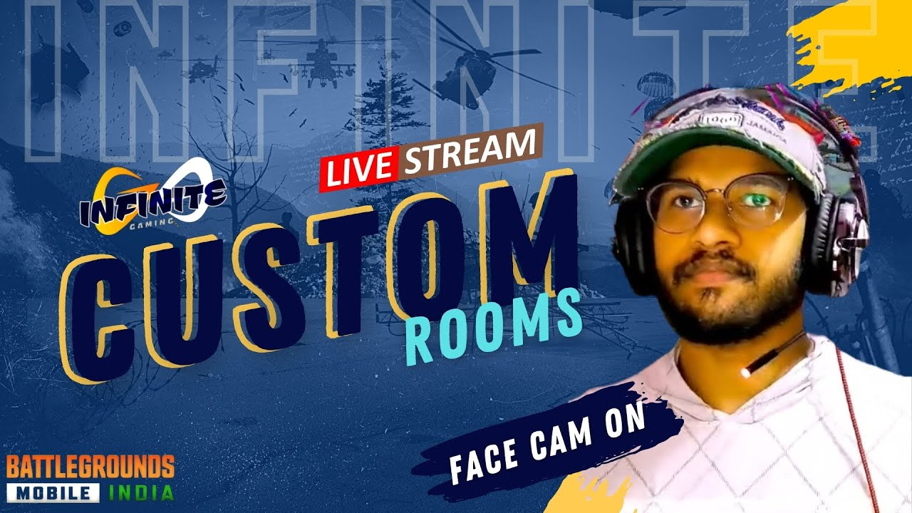 Download BGMI unlimited custom rooms   subscribe cheyandi friends   infinite YT   telugu stream