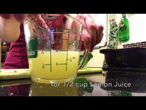 Lemon Ginger Brew from Bon Appetit