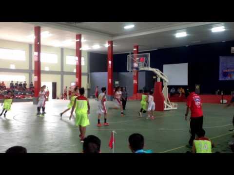 Perbasi Cup 2017 Balikpapan - Final : KU18 - Total vs Pertamina (Q4)