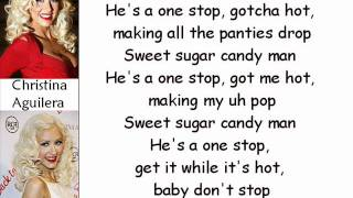 Christina Aguilera - Candyman (Lyrics On Screen)