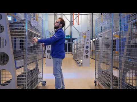 Automatisch orderverzamelsysteem voor brezan