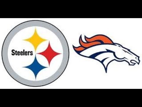 Action PC Football 1982 Playoffs Retro Replay #4 PIT Steelers vs #3 DEN Broncos AFC 2nd Round