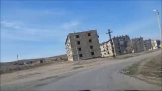 Вымирающие города и посёлки Казахстана  . ПГТ Жезды . Карагандинской обл .