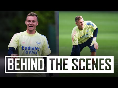 Bernd Leno returns from injury! | Behind the scenes at Arsenal Training Centre