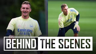 BERND LENO RETURNS! | Behind the scenes at Arsenal Training Centre