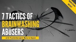 7 Tactics of Brainwashing Abusers