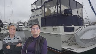 Retired Couple Choose to Live on a Boat Instead of a House!