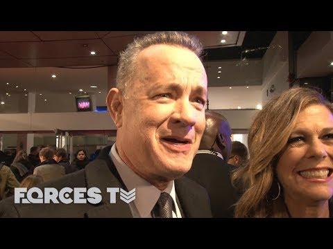What Happens When Tom Hanks Meets A Royal Marine Veteran | Forces TV