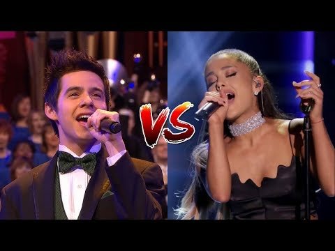 Ariana Grande vs David Archuleta - Live Vocal Battle - Eb4/Bb4 - C#5/G#5