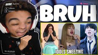 KPOP Idols Sneezing Compilation😂「FUNNY」