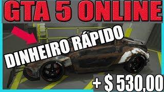 GTA V Online Como Ganhar Dinheiro Honesto Facil $530 Mil