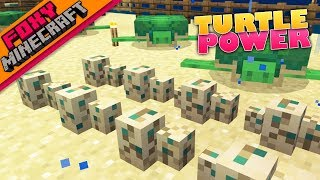 Minecraft | TURTLES & CONDUIT POWER | Bedrock Survival Realm [62]