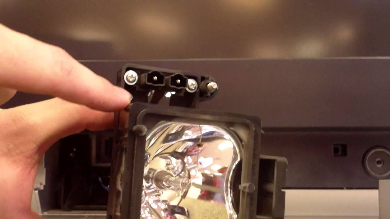 SONY WEGA Lamp Replacement | Sony DLP Bulbs - YouTube