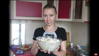 Салат крабовый))) Рецепт салата с крабовыми палочками.