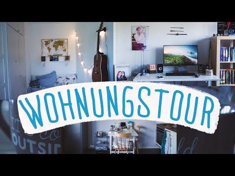 WOHNUNGSTOUR | meine 1. eigene Wohnung ♥