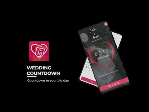 Wedding Countdown App Can T Wait For The Big Day Apps On Google Play