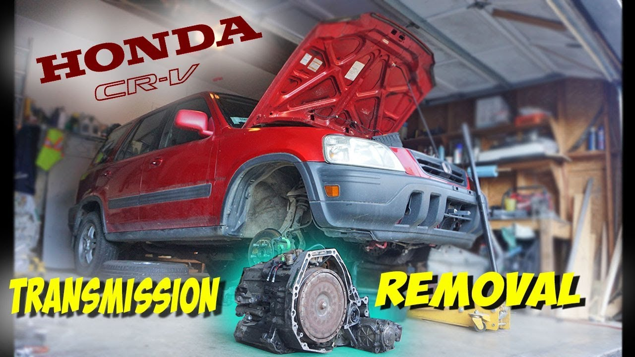 medium resolution of 97 01 honda crv transmission removal at home