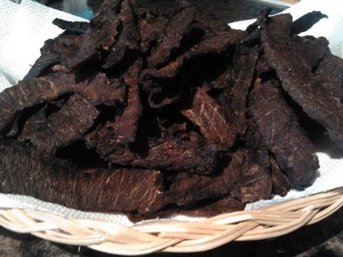 How to make the Best Beef Jerky in the World!