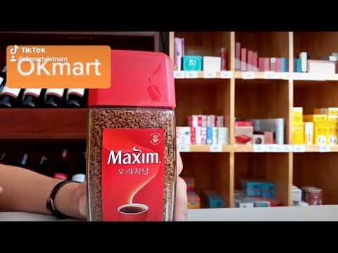 Cà Phê Maxim Hàn Quốc tại OKmart