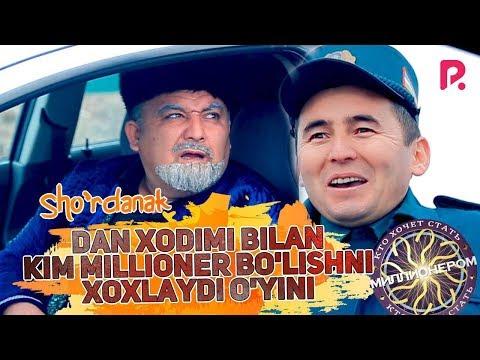 Sho'rdanak - Dan xodimi bilan kim millioner bo'lishni xoxlaydi o'yini (hajviy ko'rsatuv)