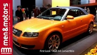 First look: The new Audi A4 for 2008 Videos