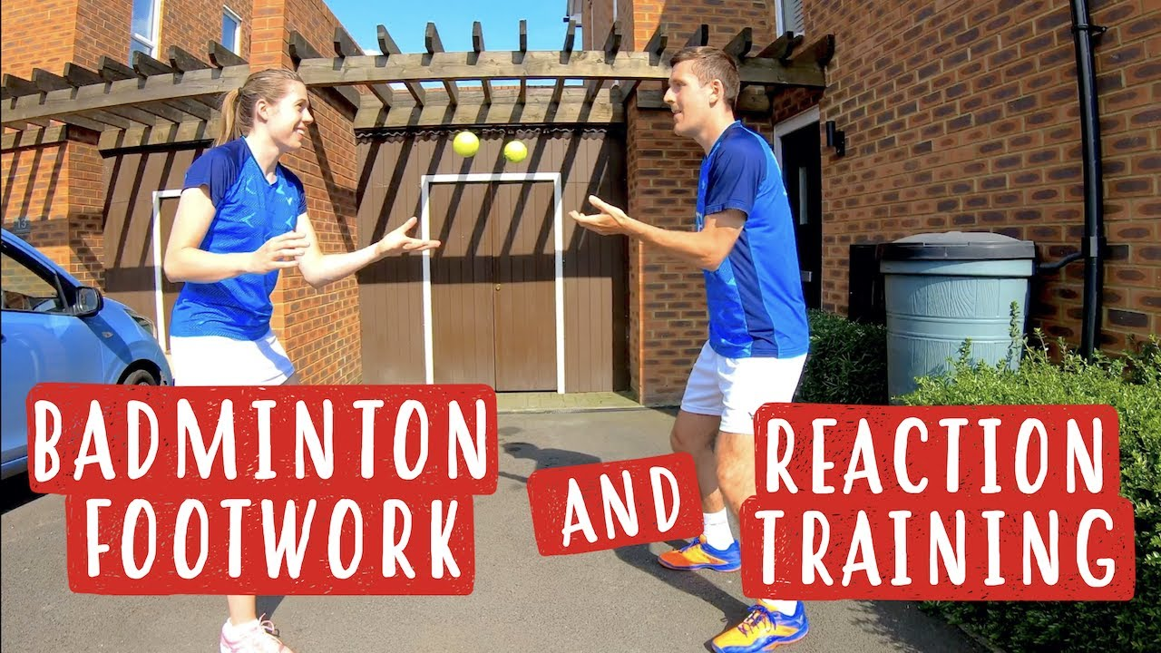 Badminton Footwork and Reaction Training