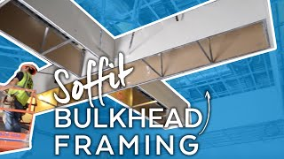 Armstrong Official Drywall Grid Bulkhead Soffit Installation