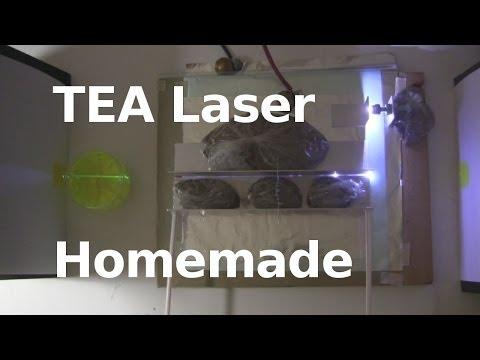 TEA Laser - Easy Homemade/DIY Laser