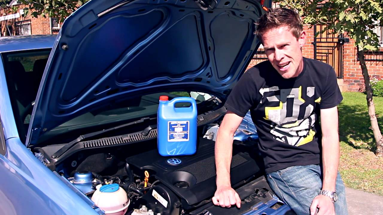 How To Check Your Cars Water Level Youtube