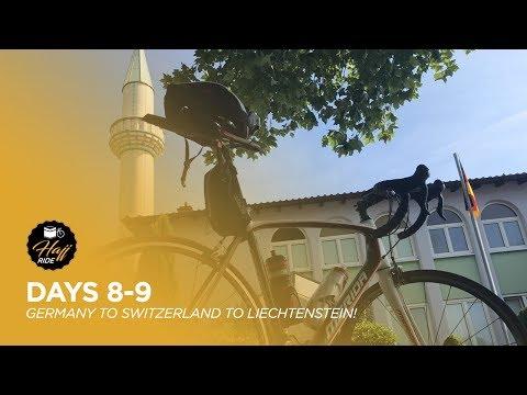 Hajj Ride 2017   The Alps await... - VLOG #5 (Germany-Switzerland- Liechtenstein)