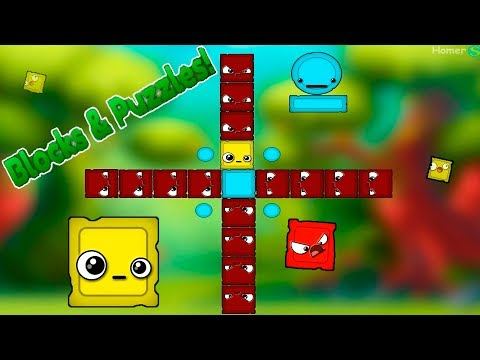 Puzzles & Blocks #2 Logic Puzzle Game For Kids, Walkthrough.