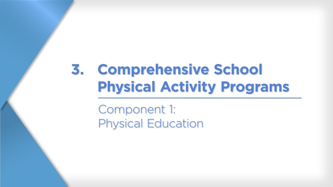 Tths Comprehensive School Physical Activity Programs A Guide For Schools