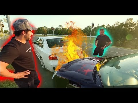 I WROTE JACKSONS CAR OFF!!