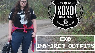 EXO inspired outfits! :D