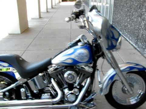 Chrome Wheels Harley Davidson Fatboy