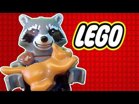 Енот и кот лего мультфильм.  Raccoon and cat cartoon.  Lego vine.