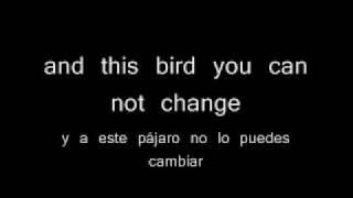 Free bird - Lynyrd Skynyrd. Traducida al español