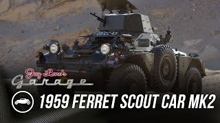 homepage tile video photo for 1959 Ferret Armoured Scout Car Mk2 - Jay Leno's Garage