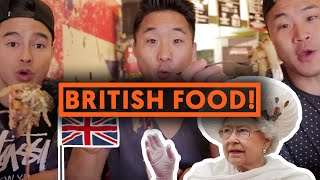 FUNG BROS FOOD: Fish and Chips (British Food!)