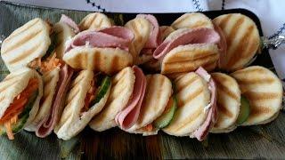 فطائررائعة و سهلة بالعجينة الذهبية - Best and easy panini bread for sandwiches- Pain de panini