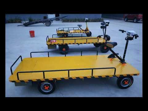 Желтая телега. Обзор грузовой электрической желтой телеги Стич Грузо.