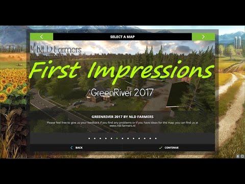 Farming Simulator 17 - Map First Impressions - GreenRiver 2017 V2.0.0.2