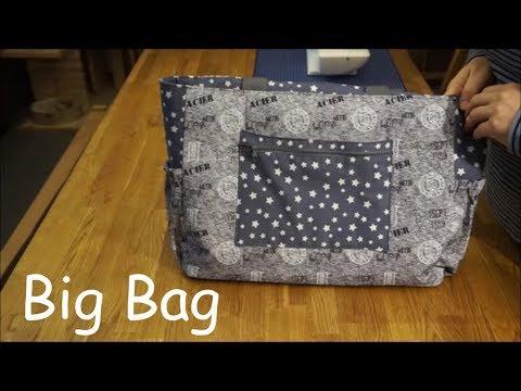 Big Bag / Shopper / Strandtasche nähen