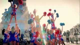 Cheerleaders 2012 London Olympics