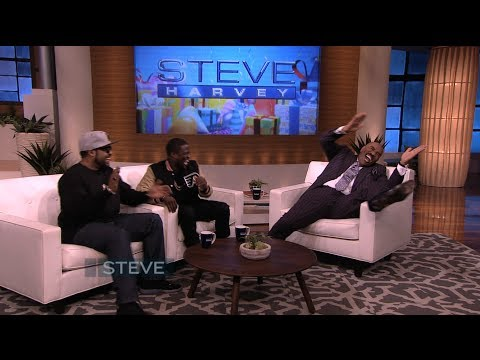 Thumbnail: Surprise! Ice Cube & Kevin Hart in disguise || STEVE HARVEY
