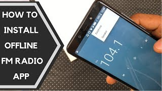 How To Download & Install Offline FM Radio App APK on Infinix Note 5/Stylus Without Root