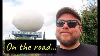 Big egg and an even bigger volcano! Leaving Washington...
